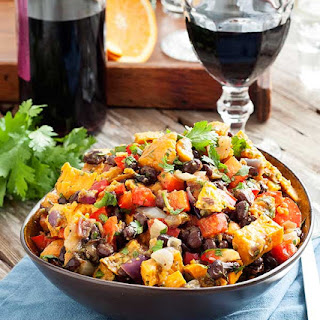 Gluten Free Mexican Sweet Potato Salad
