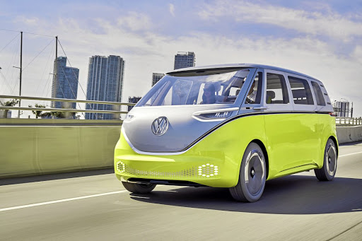 The I.D. Buzz brings back the spirit of the original VW Kombi.   Picture: NEWSPRESS UK