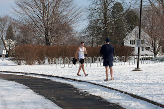 Photo: Fast guys always wear singlets and shorts...