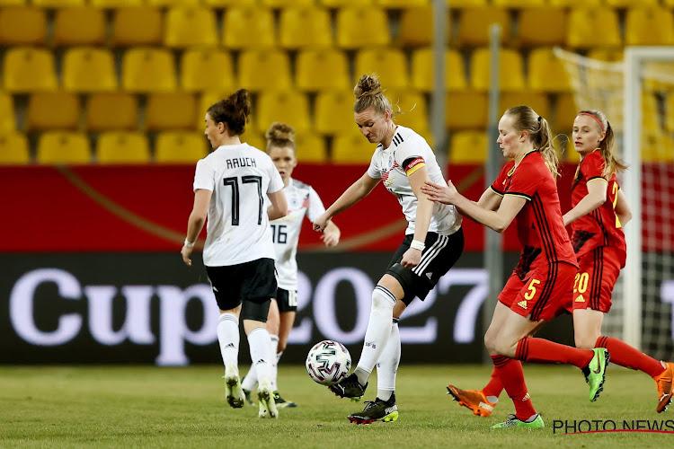 Red Flames beperken schade tegen grootmacht Duitsland