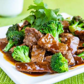 Chinese Broccoli Beef.