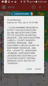 Storm Alert Lightning & Radar screenshot 17