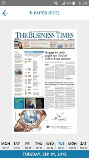 The Business Times - náhled