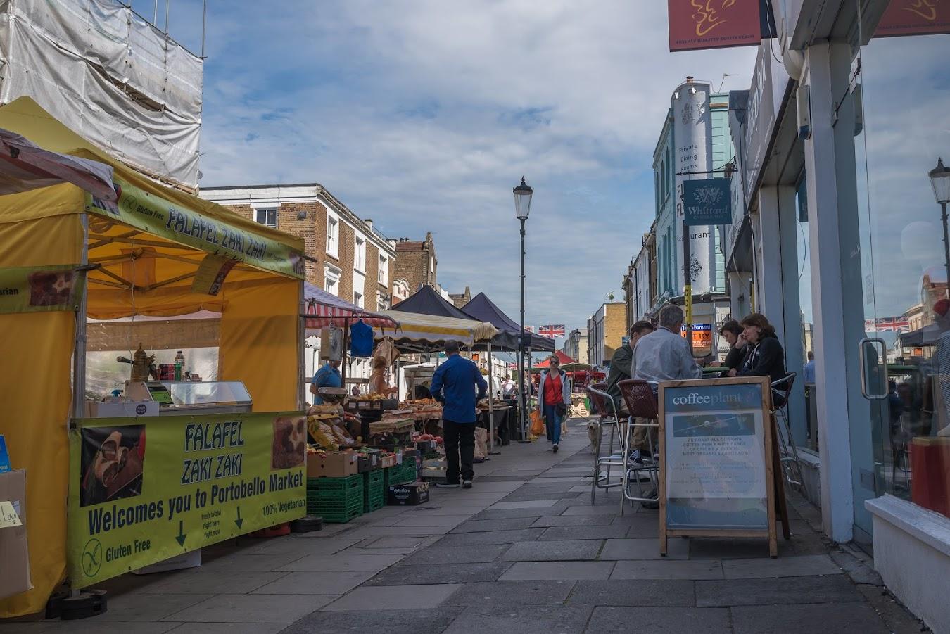 Travel Blog: Day 8 - Cook breakfast -> Portobello Road Market ...