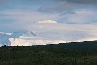 "Photo: Denali, the ""great one,"" showing itself for the first time"