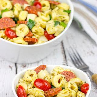 Pasta Salad With Pepperoni And Mozzarella Cheese Recipes