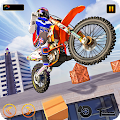 Bike Stunt: Extreme Roof Drive