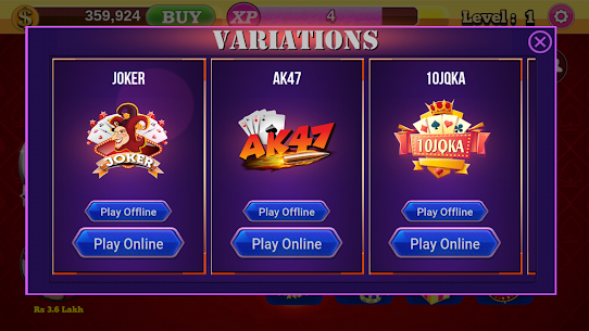 Teen Patti Royal (Online & Offline) App Latest Version  Download For Android 6