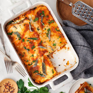 No-Noodle Sweet Potato Sage Lasagna.