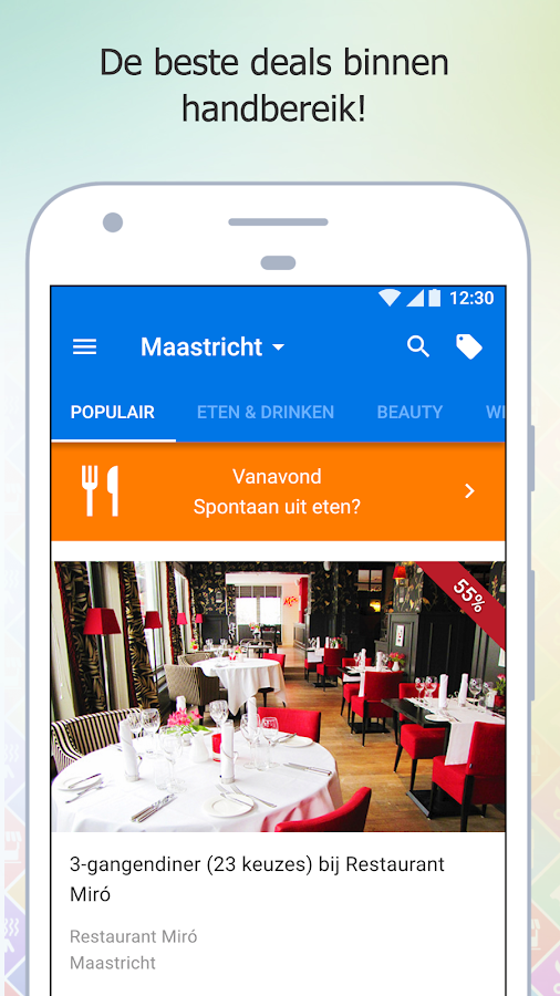 Social Deal - Dé beste deals: screenshot