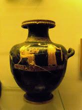 Photo: Apollonia Museum - Attican vase early 5th century BC