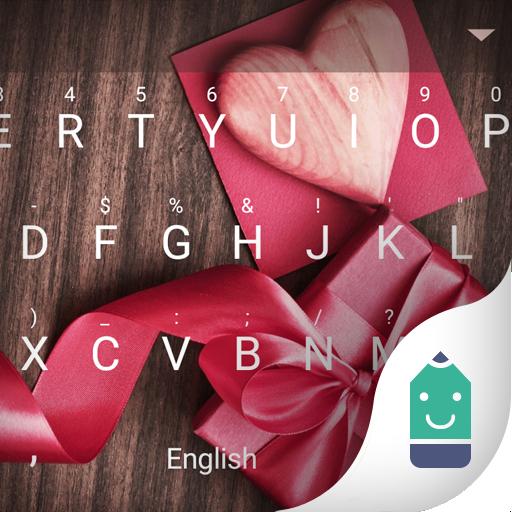 Love Gift Theme&Emoji Keyboard