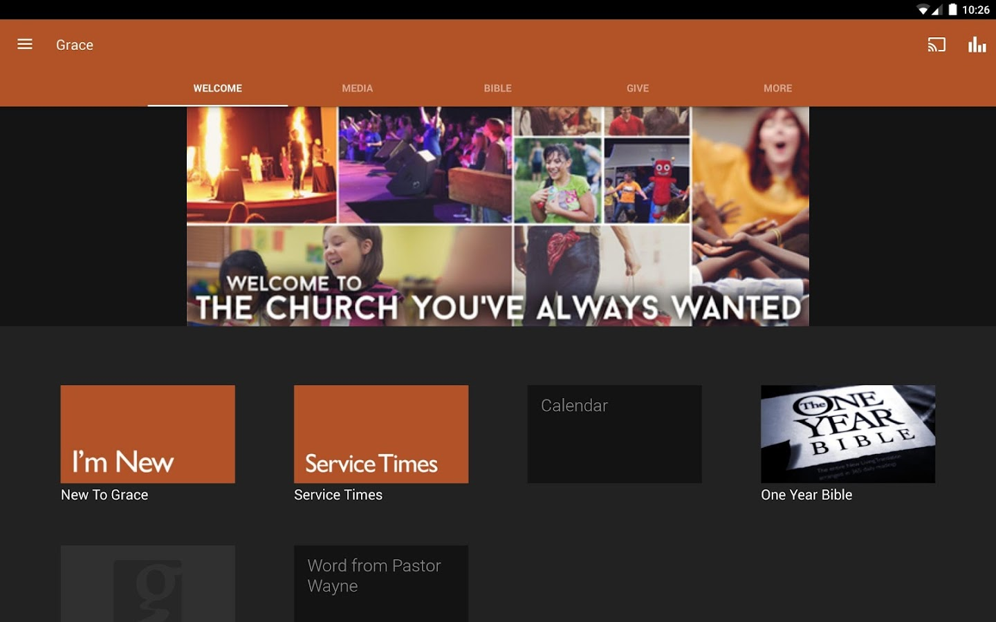 Grace Assembly of God- screenshot