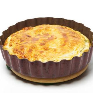 Crust-Less Quiche.