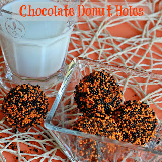 Chocolate Doughnut Holes.