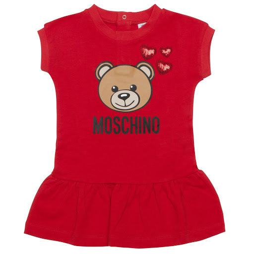 Primary image of Moschino Cotton Teddy Dress