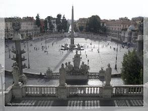 Photo: Plaza del Popolo ( Roma ) http://www.viajesenfamilia.it/