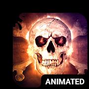 Savage Skull Animated Keyboard