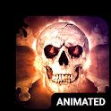 Savage Skull Animated Keyboard icon