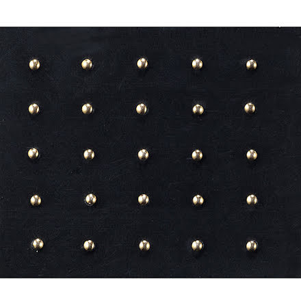 Nageldekorationer- metal studs - gold