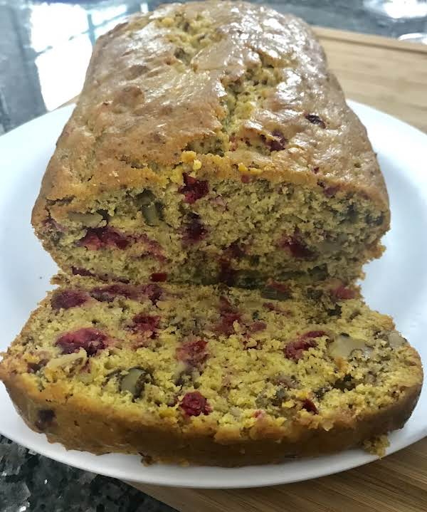 Pumpkin Fresh Cranberry Nut Bread Recipe
