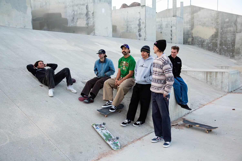 Frog Skateboards Team