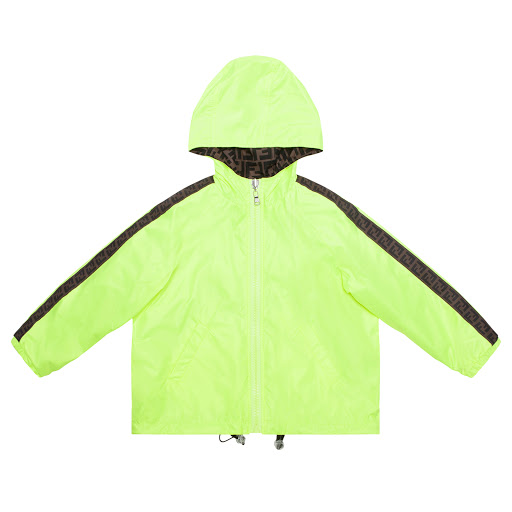 Thumbnail images of Fendi Reversible Windbreaker Jacket