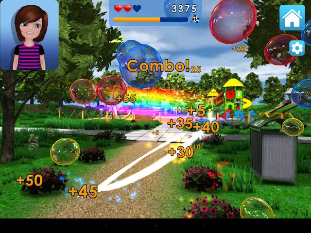 android Crayola Bubbles Screenshot 1