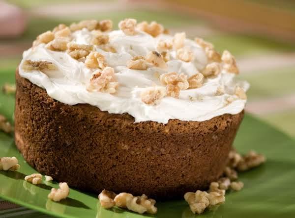 Cream Vanilla Spiced Cake Recipe