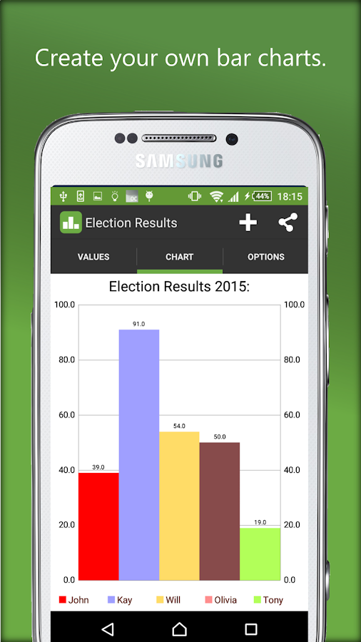 Bar chart android apps on google play