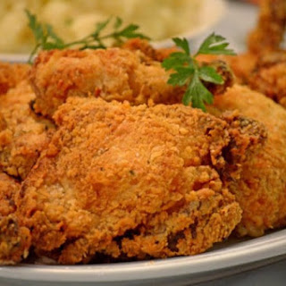 Oven-fried Buttermilk Chicken.