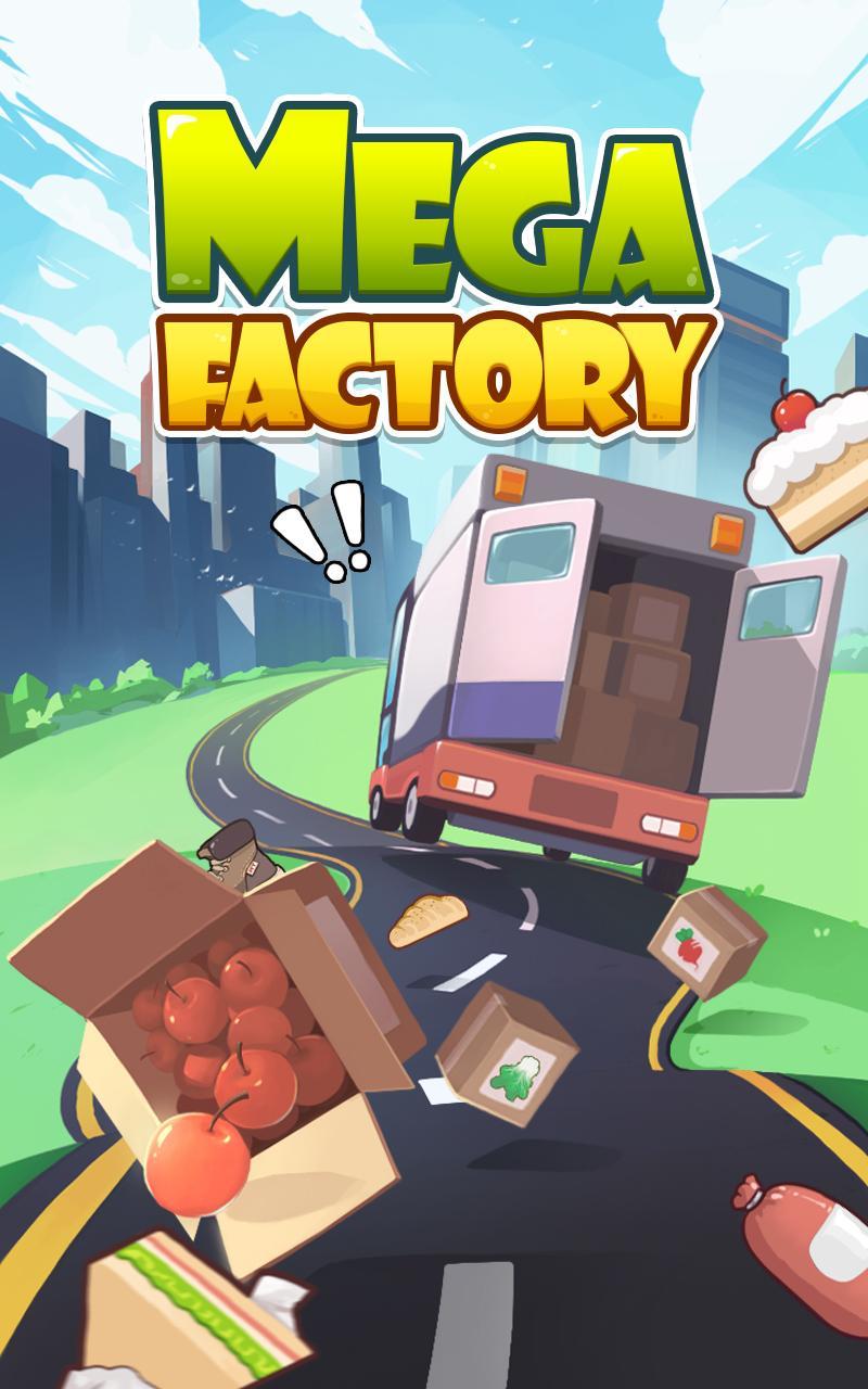 Mega Factory -idle game, money clicker, click game APK