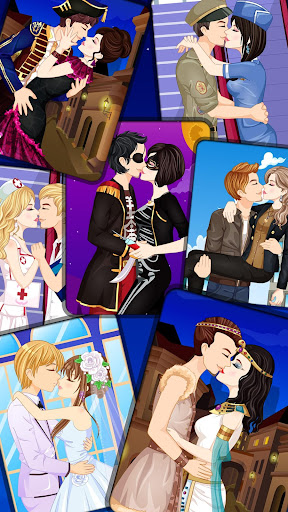 Kissing Dressup For Girls - Cute Couple Makeover 3.1 screenshots 1