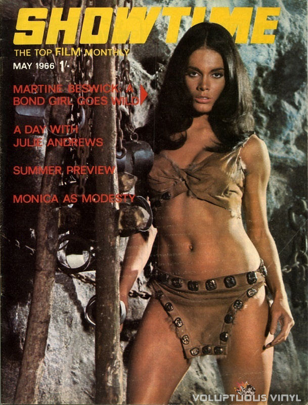 Martine Beswick Showtime Magazine