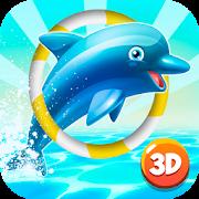 Aquarium Dolphin Show 3D