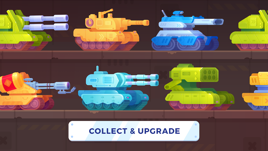 Tank Stars Android App Screenshot