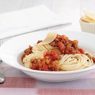 Spaghetti Bolognaise.