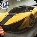 Parking Supercar City icon
