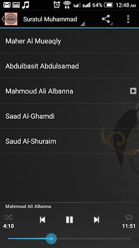 Full Surah Muhammad MP3 v1.0