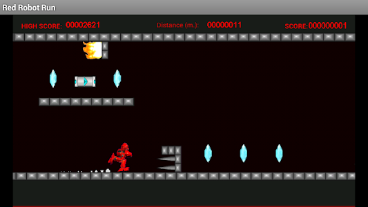 Red Robot Run screenshot 2