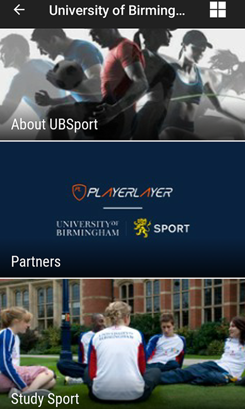UB Sport&Fitness- screenshot