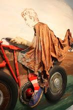 Photo: Antonio Berni Juanito con la moto -detalle- 1972 ca. Colección particular, Buenos Aires. Expo: Antonio Berni. Juanito y Ramona (MALBA 2014-2015)