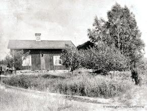 Photo: Stenkullen Ängarna i Vasselhyttan omkring 1905