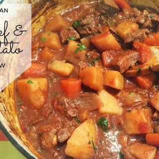 Italian Beef & Potato Stew.