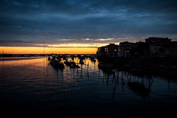 Chioggia e il tramonto di E l i s a E n n E