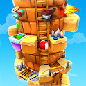 Blocky Castle Climb: Pet Jump! Cat🐱dog🐶and more! icon