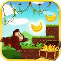 Jungle Monkey running icon