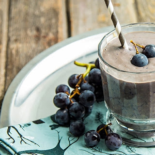 PB & J Concord Grape Smoothie