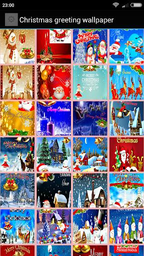 Christmas Cards Wallpaper Screenshot