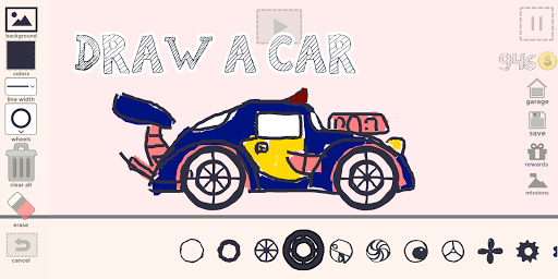 Draw Your Car - Create Build and Make Your Own Car 1.9 Screenshots 7